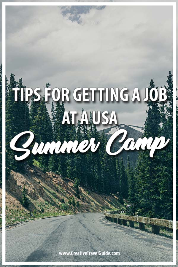 Camp america jobs