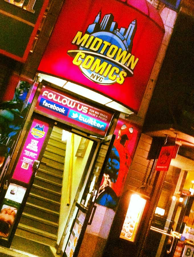 Midtown Comics things to do in Times Square