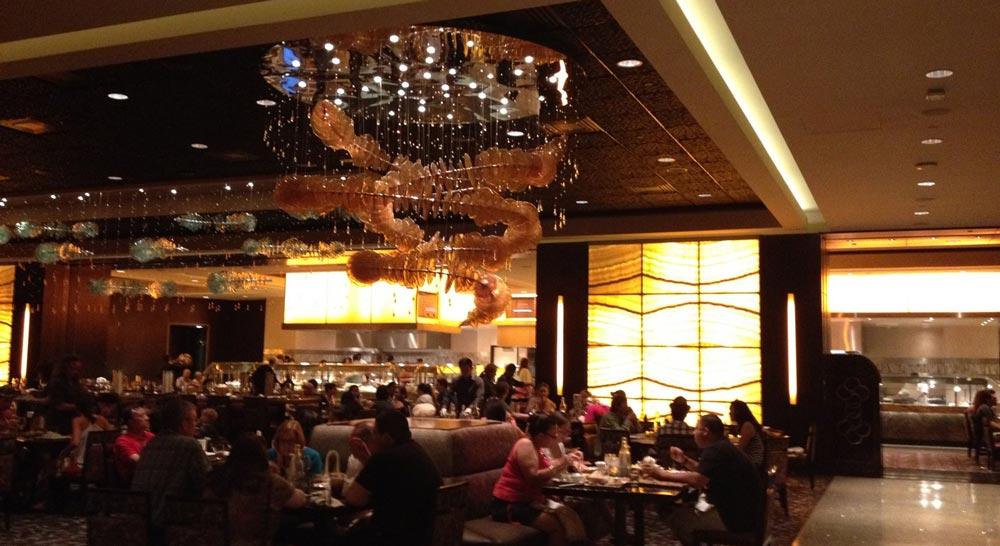 Wicked Spoon Las Vegas restaurant area