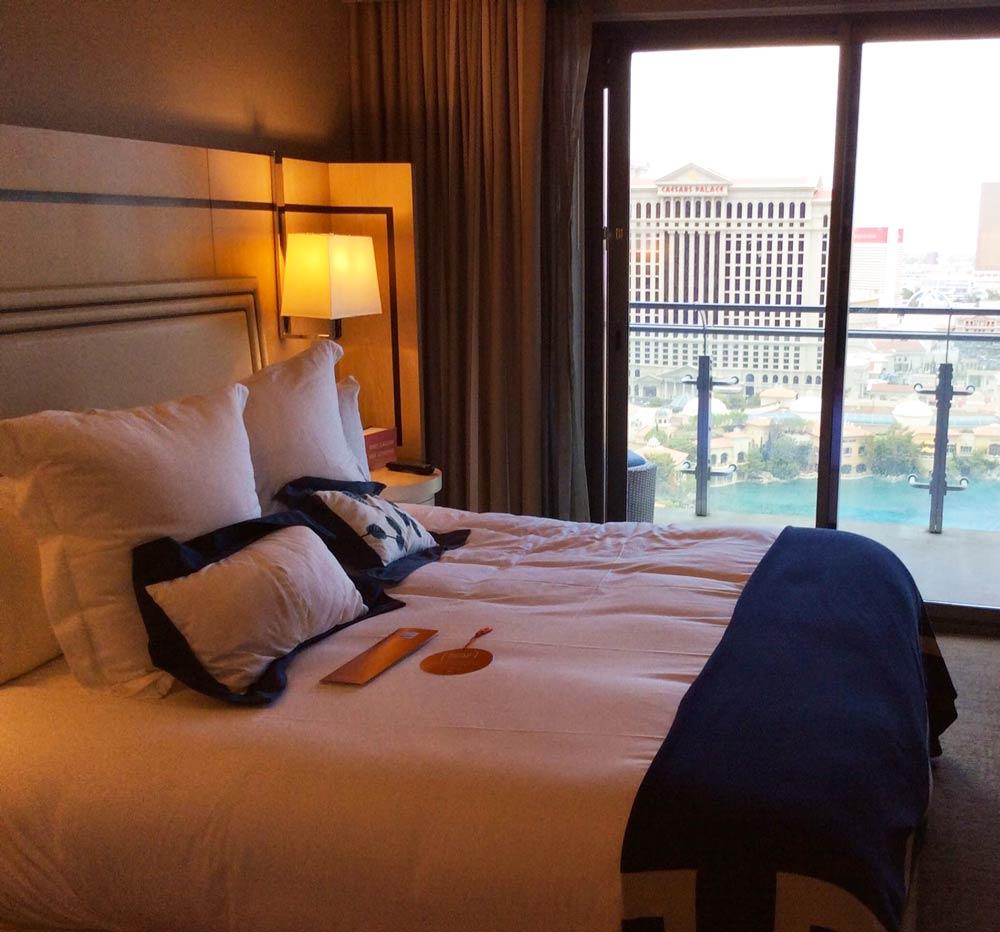 One bedroom suite at The Cosmopolitan Las Vegas