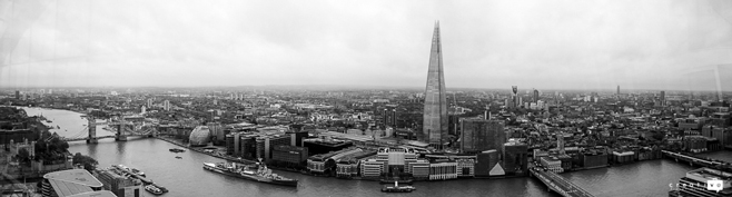 Sky Garden views of London from above