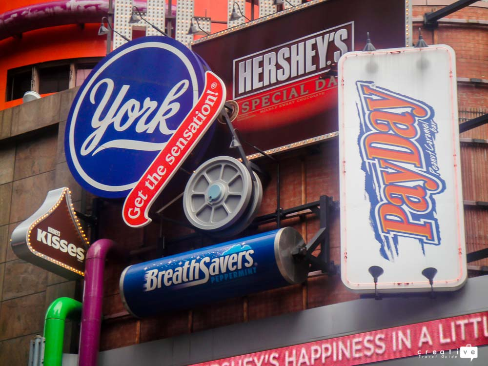 Hersheys Store in Times Square, New York City