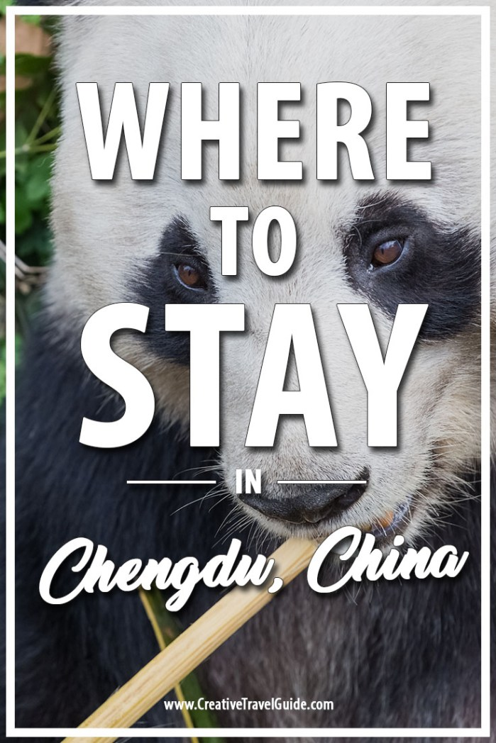 Where to stay in Chengdu China