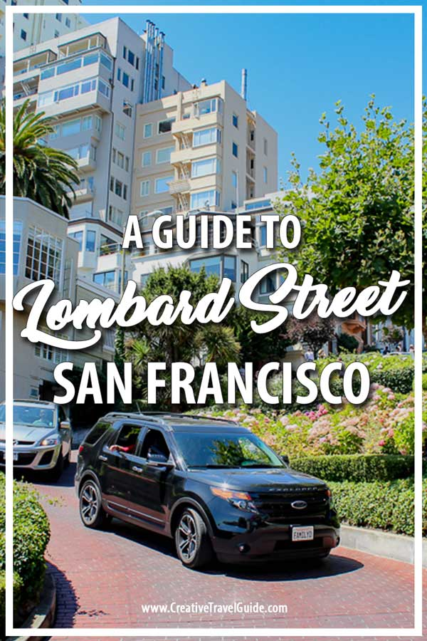 Zigzag road in San Francisco