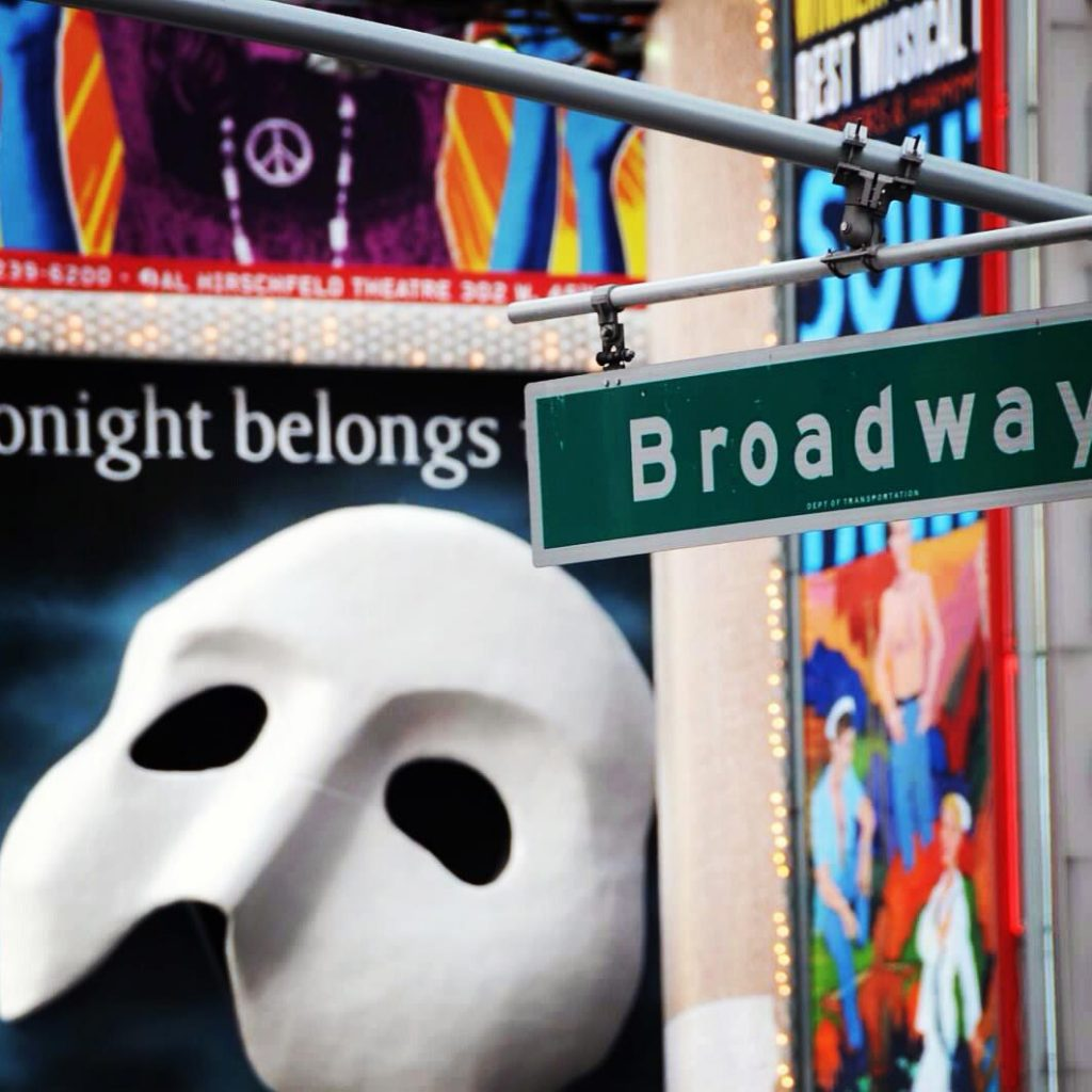 Buying Broadway tickets
