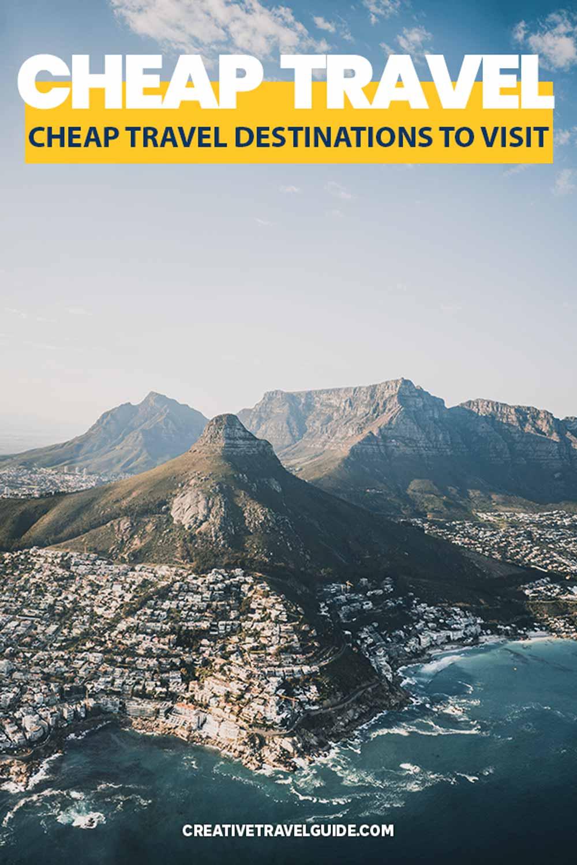 Cheapest travel destinations