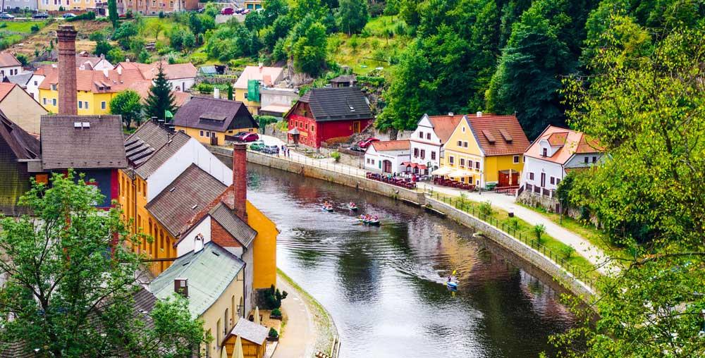 A small town in Czech Republic Cheap travel destinations