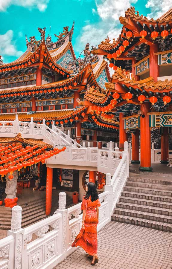 A temple in Malaysia Cheapest travel destinations Malaysia