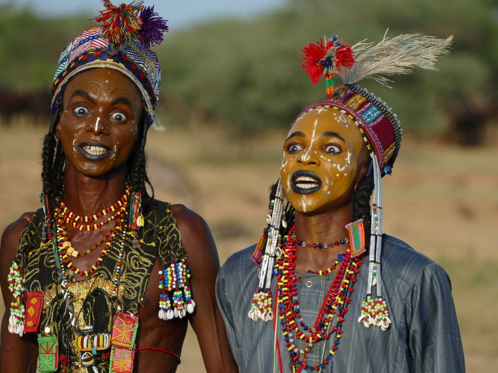 he Gerewol Festival in Chad, African celebrations