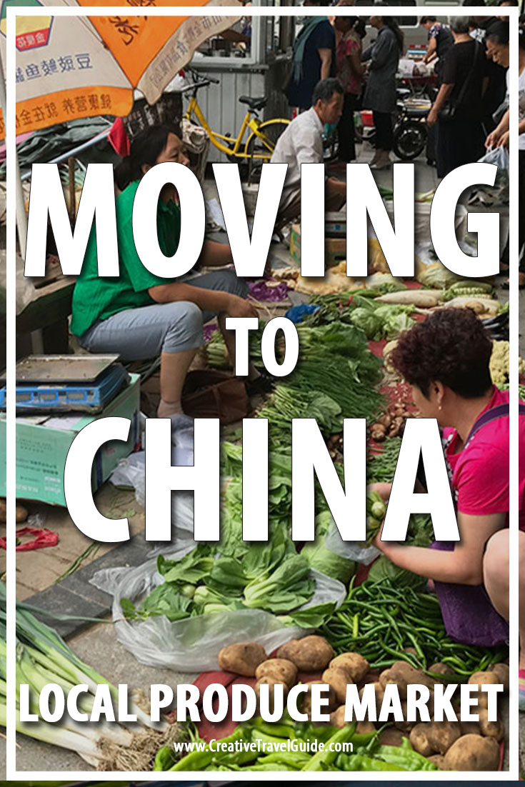 Moving to China