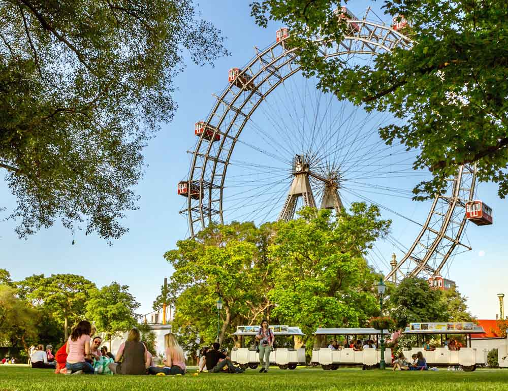 Outdoor parks in Vienna