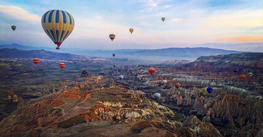Cappadocia Best places to visit in Turkey