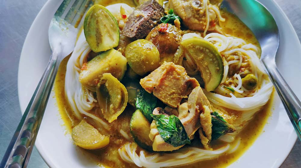 Green Thai Curry Favourite foods around the world