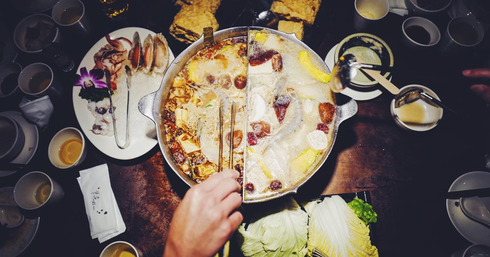Hotpot in China favourit foods around the world