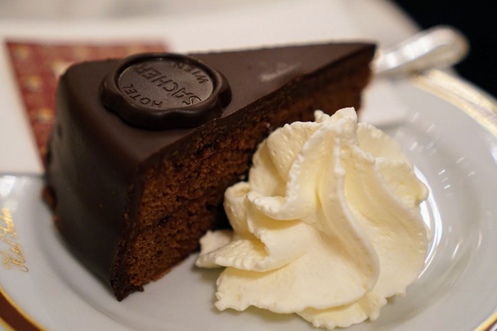 SACHER TORTE Favourite food in the world