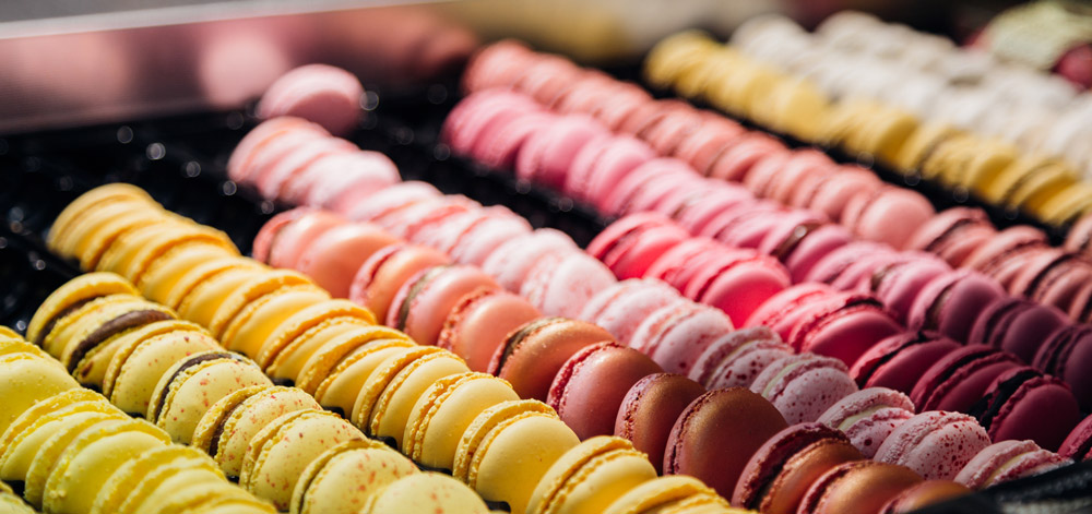 Macarons in France Favourite foods around the world