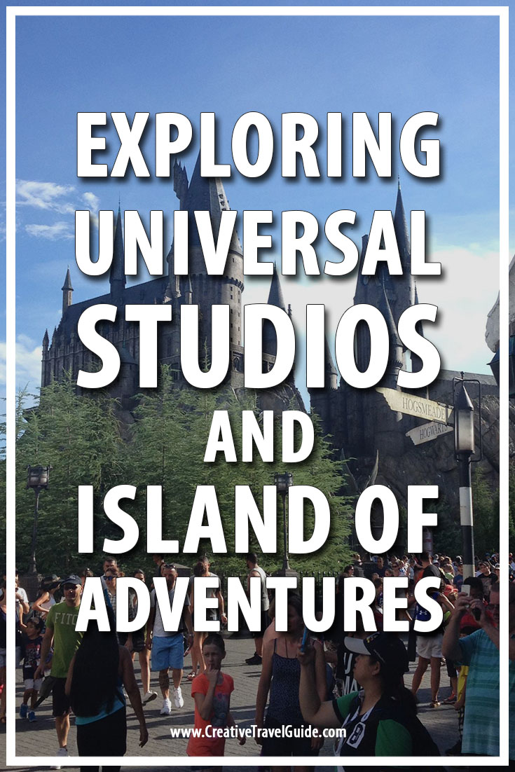 Universal Studios and Island of Adventures