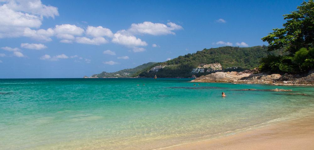 Gorgeous quiet beach in Thailand