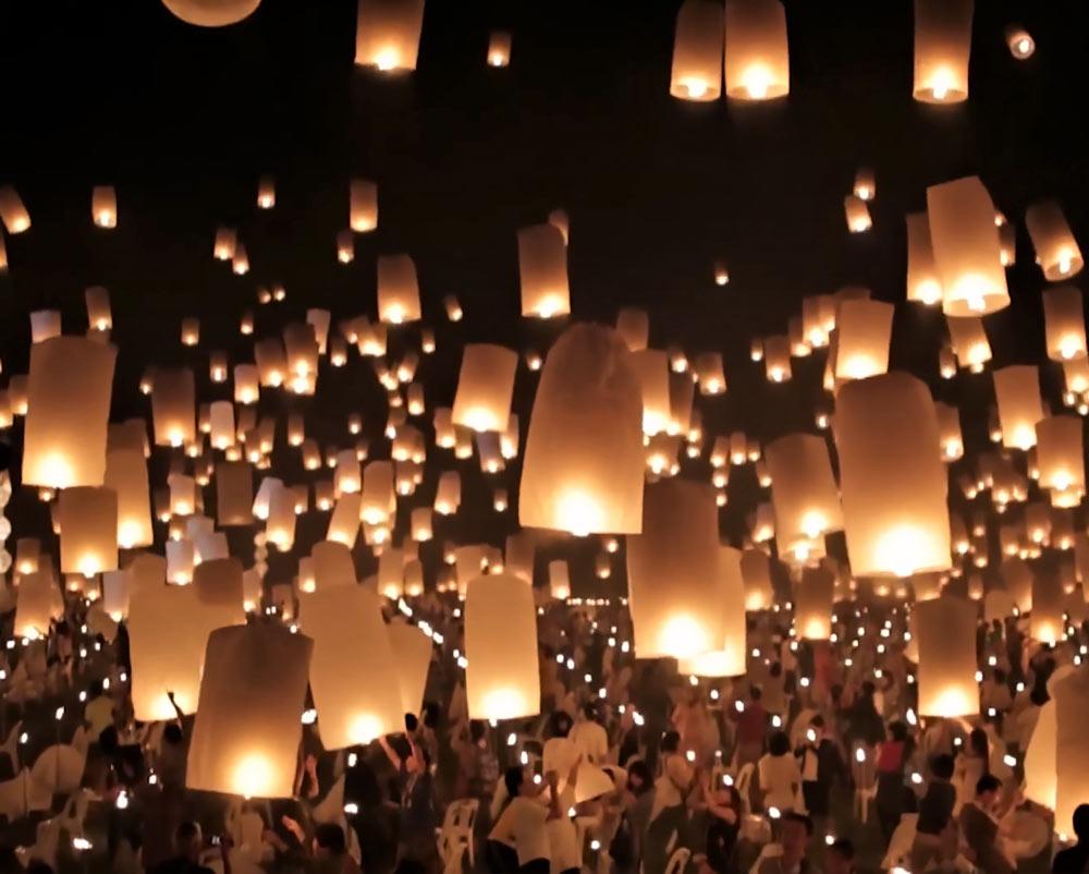 Lanterns in Chiang Mai Thailand