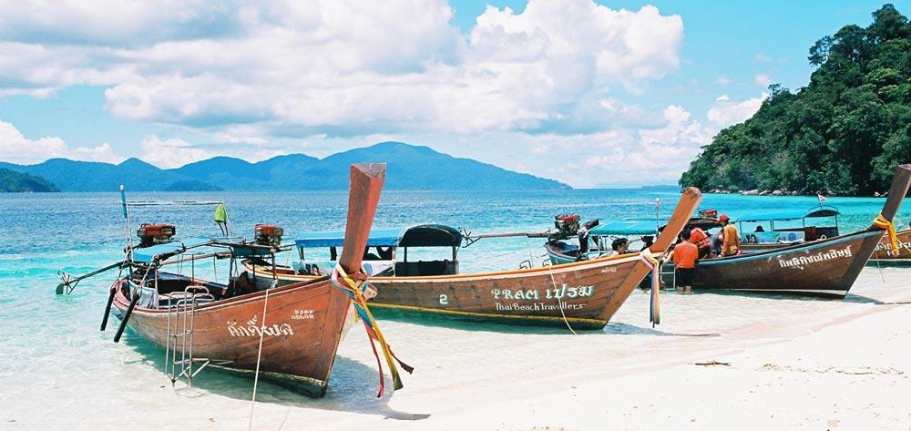 Beach in Thailand on a budget