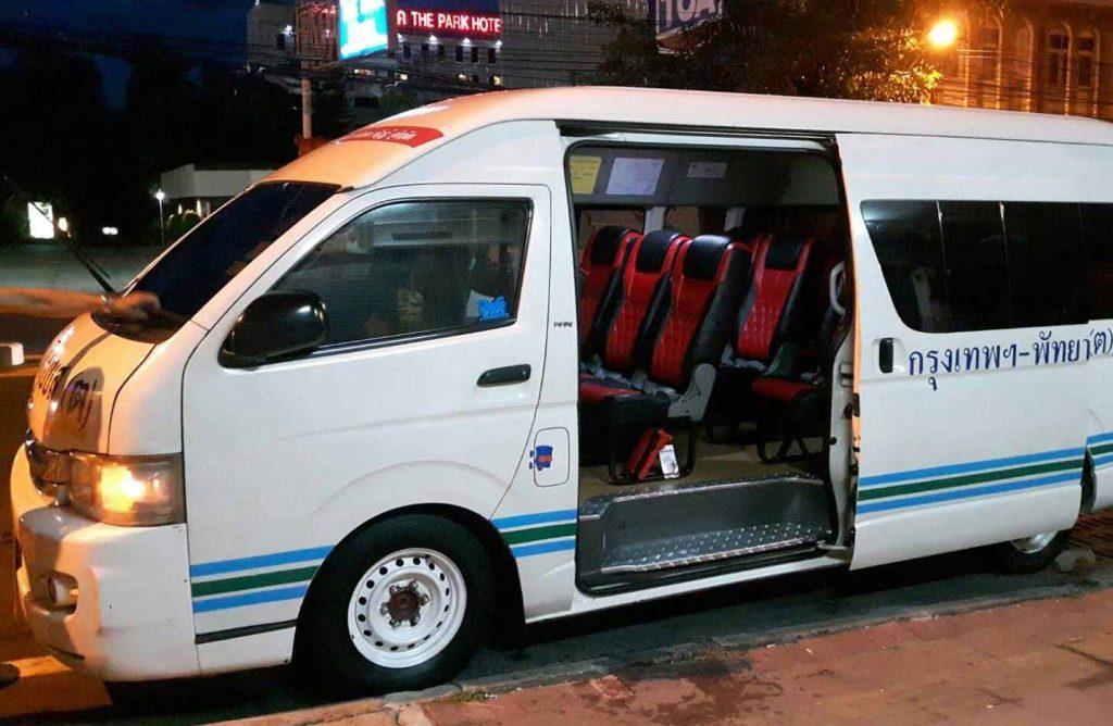 Thailand minivan Bangkok to Pattaya