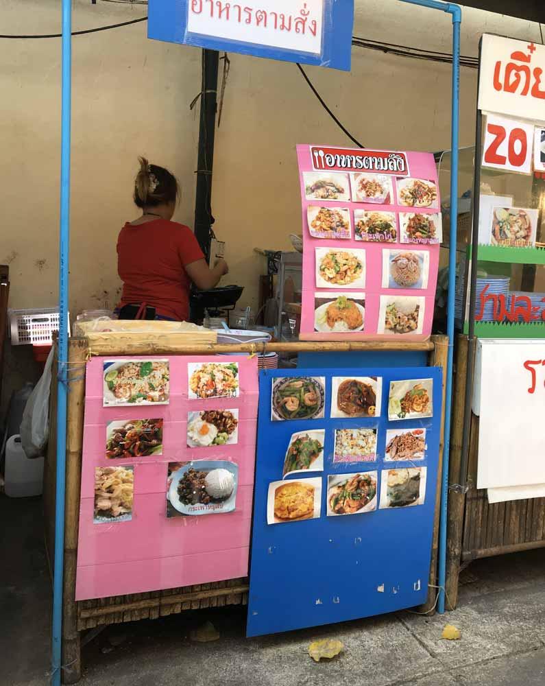 Vendor in Wang Lang Market