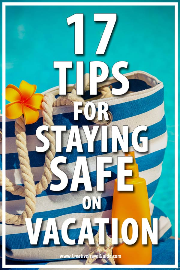 staying safe on vacation