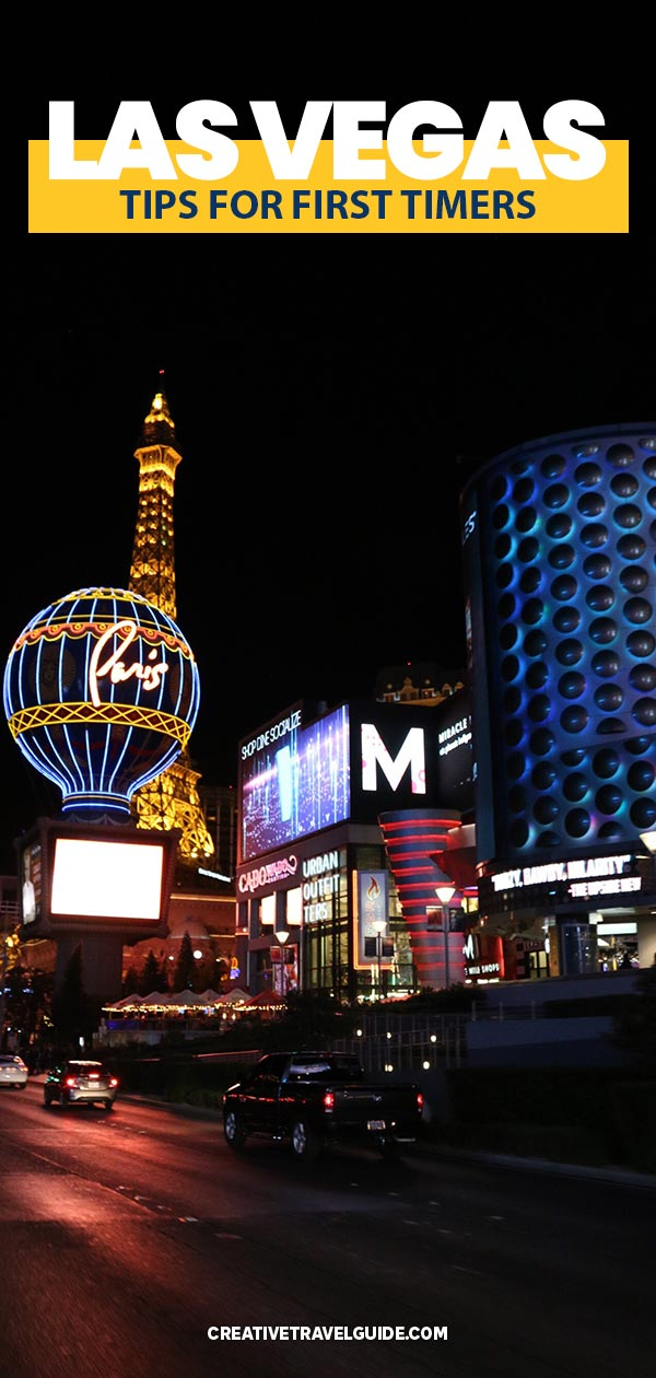 Las Vegas tips for first timers