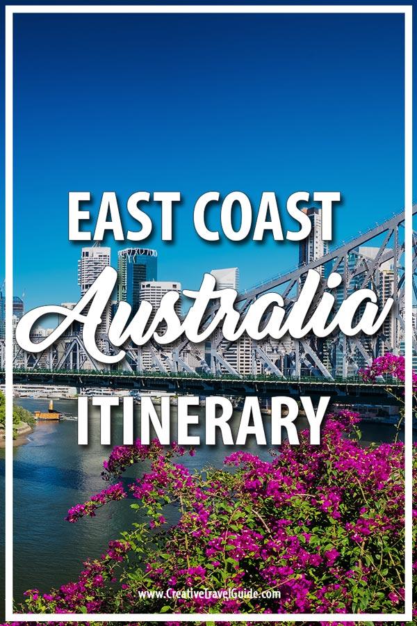 Australia Itinerary
