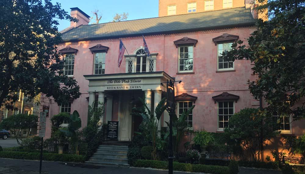 Olde Pink House Savannah restaurants