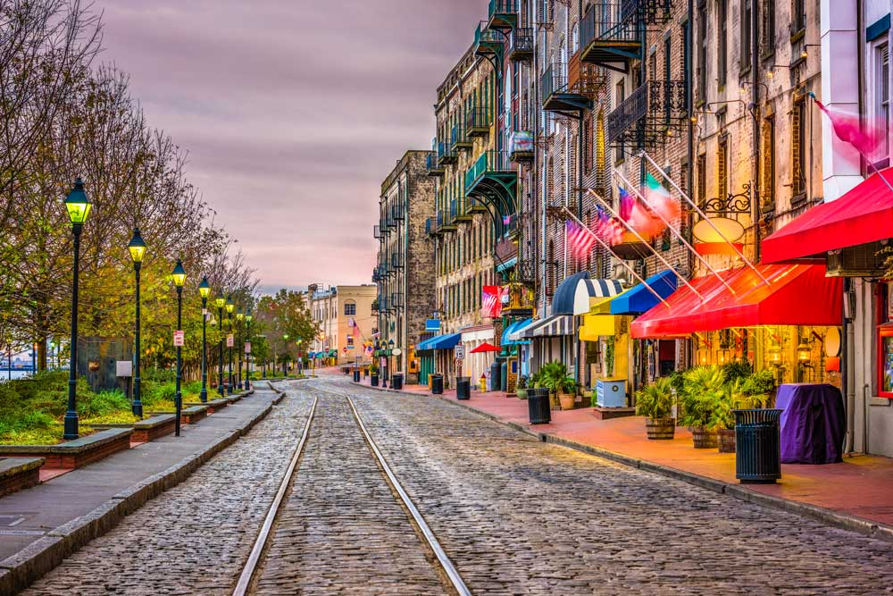 Savannah USA Bucket list