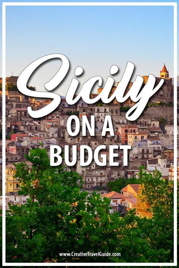 Sicily on a budget