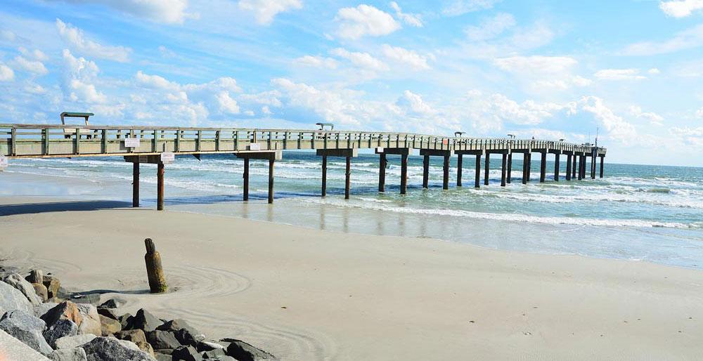 gorgeous sandy beach in Florida