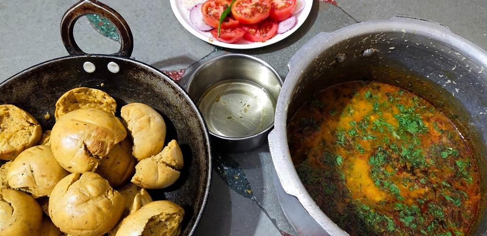 Dal Baati Churma - Rajasthani food
