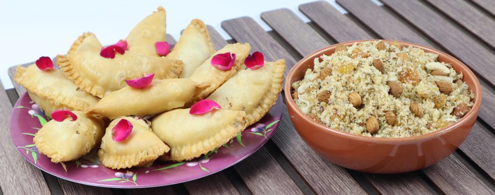 Main sweets of Rajasthan. Rajasthani food