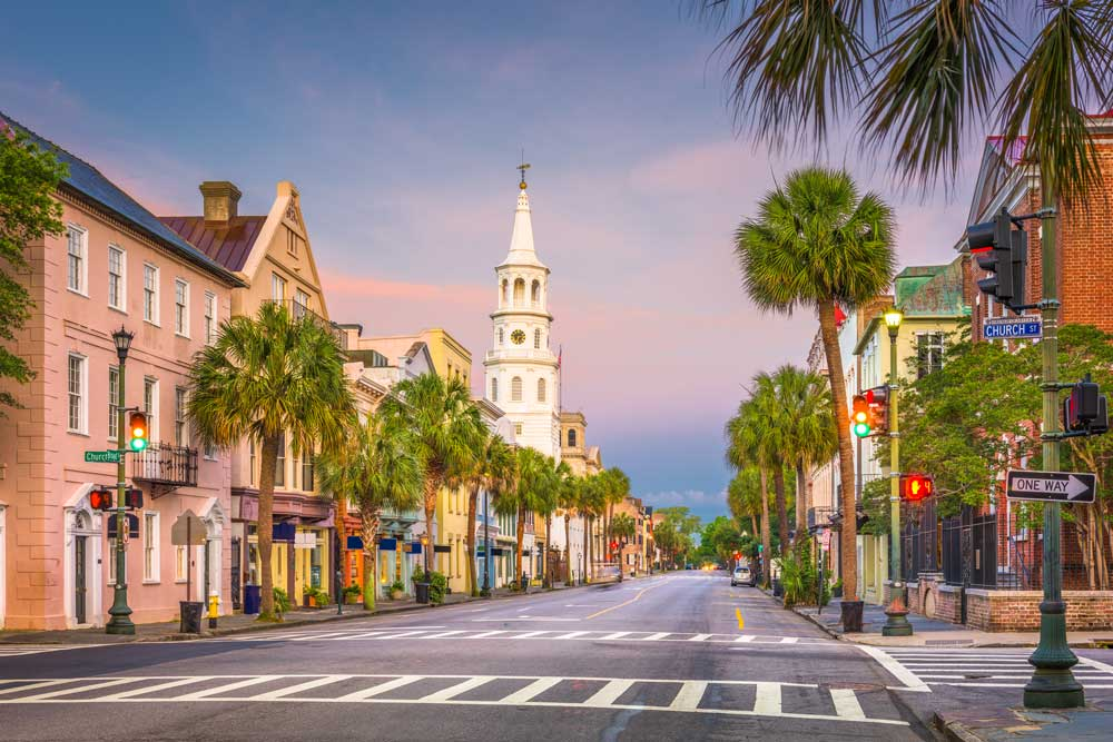 USA Bucketlist Charleston SC