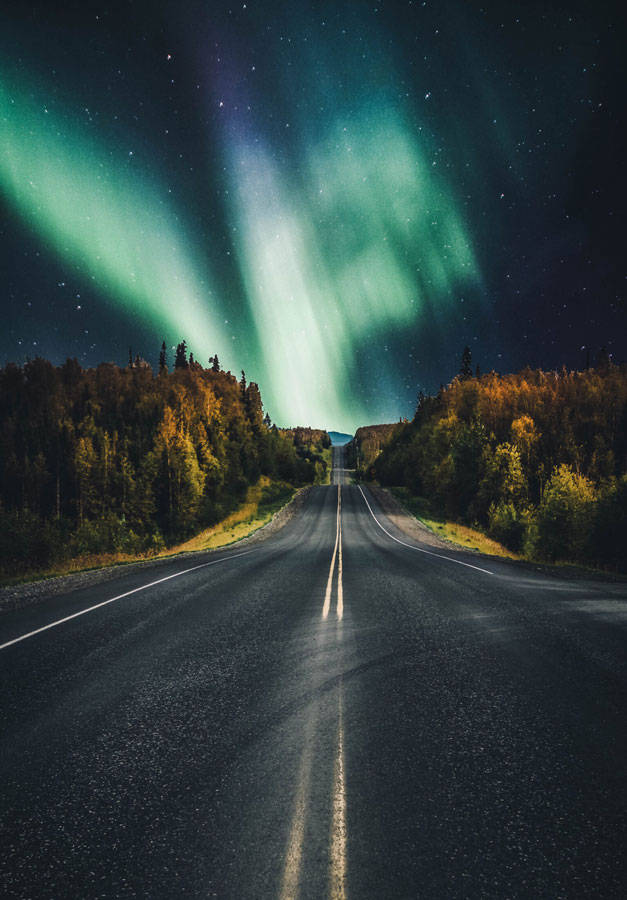 USA Bucketlist Northern Lights from Alaska