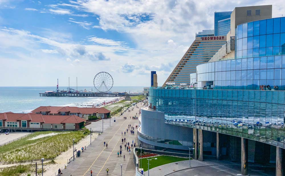Atlantic city places in America