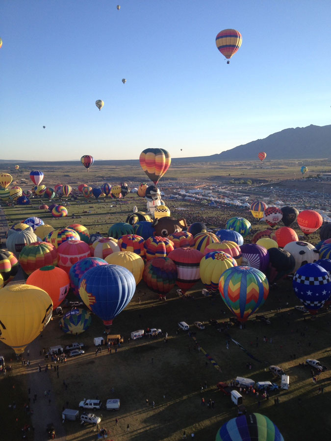 Balloon Fiesta USA bucket list