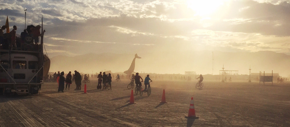 NEVADA'S BURNING MAN USA Bucket list