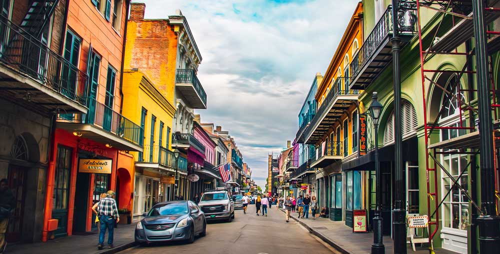 French Quarter New Orleans USA bucket list