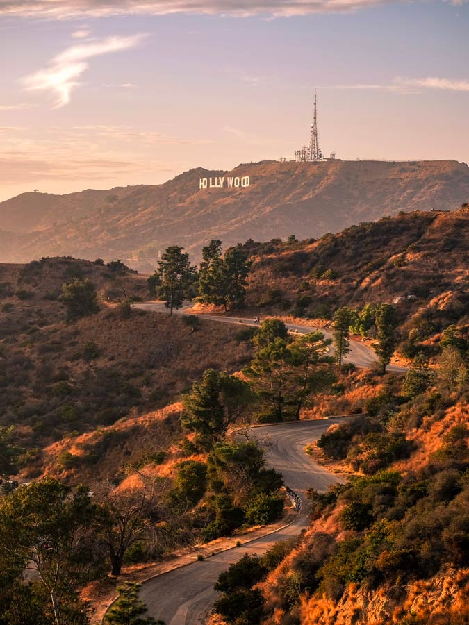 Hollywood sign USA Bucket list