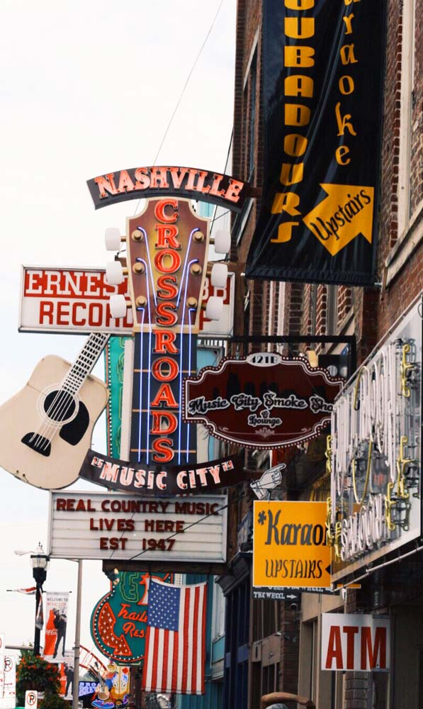 Nashville places to visit in the usa