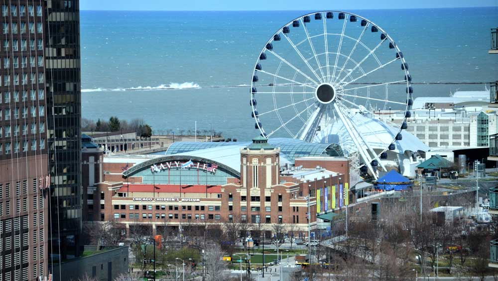 Navy pier Chicago things to do in the states