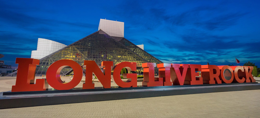 VISIT ROCK AND ROLL HALL OF FAME IN OHIO