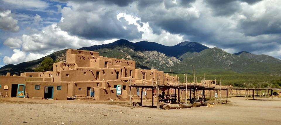 VISIT THE VILLAGE OF TAOS PUEBLO, NEW MEXICO