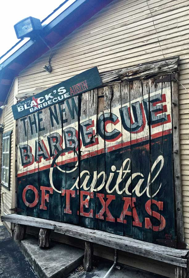 Texas BBQ Traditional American food