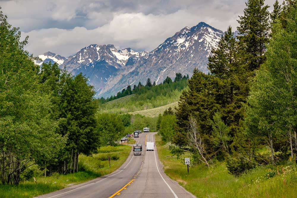 Grand Teton National park USA things to do