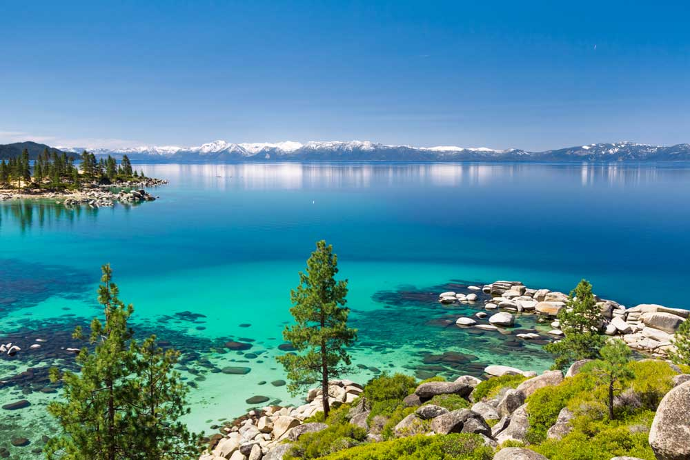 Lake Tahoe USA Bucket list