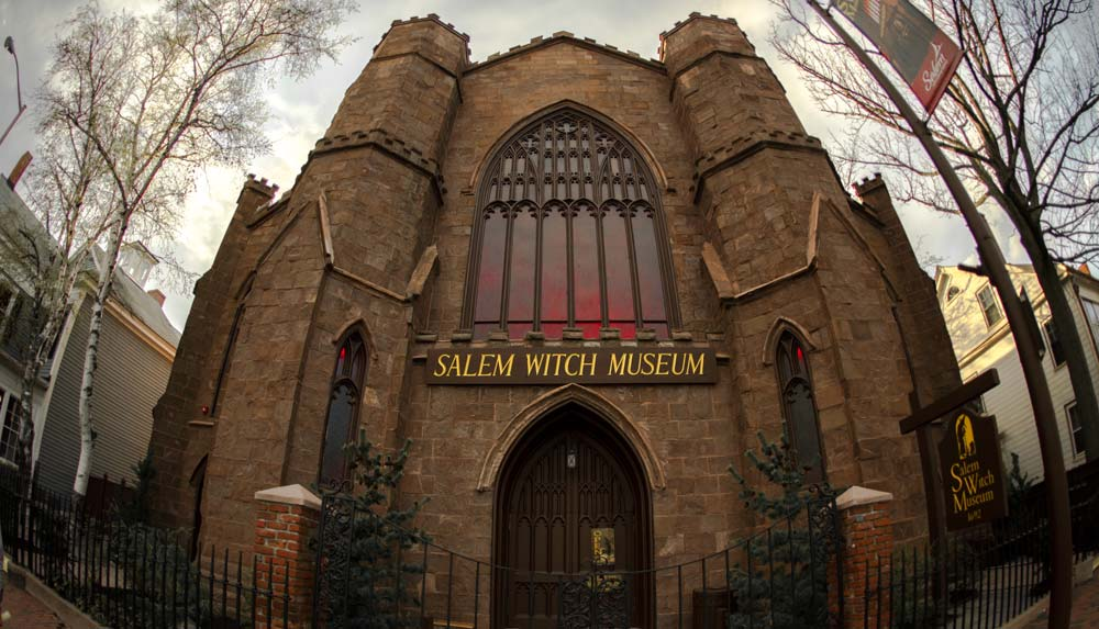 Salem Witch Museum places to visit in America